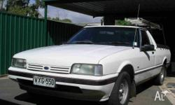 For Sale XF falcon ute, reliable and tidy, drives good,