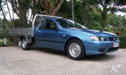 FORD,FALCON,BF,2006, RWD, Blue, Grey trim, TRAY, 6cyl,