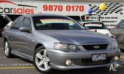 FORD,FALCON,BA,2004, RWD, MERCURY SILVER, 4D SEDAN,