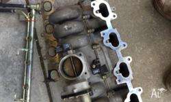 BA/BF xr6 turbo inlet manifold comes with injectors