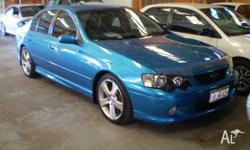 FORD, FALCON, BA, 2003, RWD, BLUE, 4D SEDAN, 3984cc,