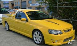 FORD, FALCON, BA FPV, 2005, RWD, Yellow, BLACK trim,