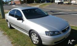 FORD,FALCON,BA,2004, Silver, SEDAN, PETROL, AUTOMATIC,