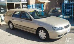 FORD,FALCON,BF,2005, RWD, GOLD, 4D WAGON, 3984cc,