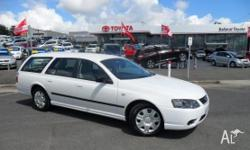 FORD,Falcon,BF Mk III,2008, Rear Wheel Drive, White,