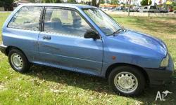FORD,FESTIVA,WA,1993, Front Wheel Drive, BLUE, 3D