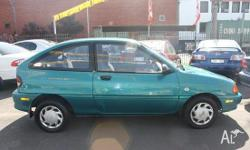 FORD, FESTIVA, WB, 1995, FWD, GREEN, 3D HATCHBACK,