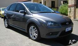 FORD, FOCUS, 2008, 5D HATCHBACK, 2, 4cyl, 5 SP MANUAL,