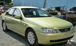FORD, FUTURA, BA, 2004, 0, Green, SEDAN, PETROL,