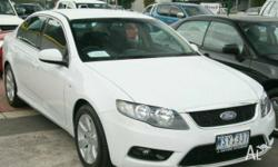 FORD,G6,FG,2008, RWD, Winter White, 4D SEDAN, 3984cc,