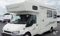FORD KEA DREAMTIME, 2006, White, Motorhome, 2006 Model,