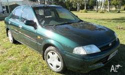 FORD,Laser,KN,1999, Front Wheel Drive, GREEN, 4dr
