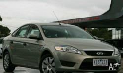 FORD,MONDEO,MB,2009, FWD, Chilli Green, 5D HATCHBACK,