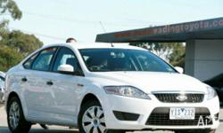 FORD,MONDEO,MB,2009, FWD, White, 5D HATCHBACK, 2261cc,