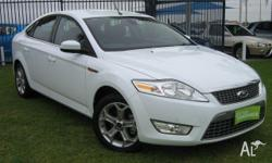 FORD,Mondeo,MB,2010, Front Wheel Drive, FROZEN WHITE,