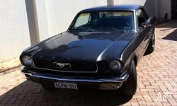 Magnificent MUSTANG 66. dream on 4 weels! Just been