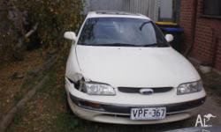 i have an unwanted ford telstar tx5, it is white and