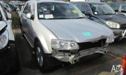 We are dismantling a Ford Territory SX Ghia 2005