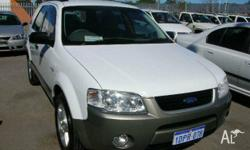 FORD, TERRITORY, SX, 2005, AWD, White, 4D WAGON,