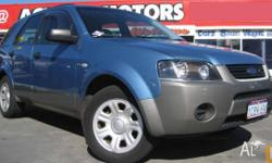 FORD,TERRITORY,TX,2005, WAGON, 4L, AUTOMATIC, 94800kms,