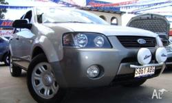 FORD,Territory,SX,2004, Four Wheel Drive, LIGHTING