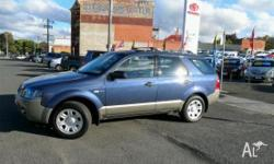 FORD,Territory,SY,2008, Four Wheel Drive, Steel Blue,