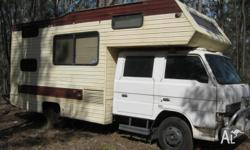 Ford trader dualcad winnebago 5 speed,hot water
