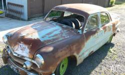 1951 Ford twin spinner no motor or gear box. No