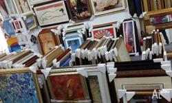 Framed picture stock over $65000 for sale for only