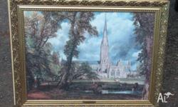 'Salisbury Cathedral from the Bishop's Grounds' c.1822