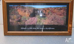 Framed Print of Mitchell Falls, The Kimberley - Ken