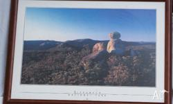 Beauriful print of rock formation at Girraween National