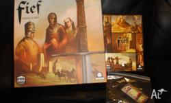 Complete Fief: France 1429 Boardgame, with all