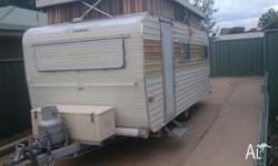 Hi, I am advertising my fathers caravan for him. It is