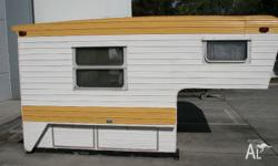 80's model Franklin Slide on Tray camper van caravan