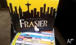 Frasier. Complete dvd boxset.Series 1-11. The discs are