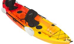 FREE TROLLEY for all double kayaks. Halloween Sale ends
