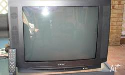 Free 64cm box type tv, work perfect, has remote, come