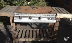 FREE Gas BBQ for sale. 4 burners, one doesn't work. In