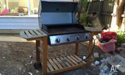 Used BBQ in need of a good clean - been exposed outside