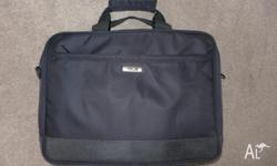 Free laptop bag. I used it for my 15.4 inch laptop so