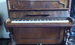 Free beautiful antique piano 'Carl Ehrlich Berlin'