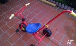 Free push trike, would suit a toddler. Moving so need