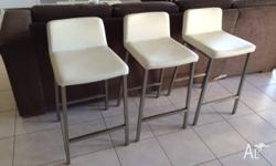 Freedom Signature Bar Stools x 3 (White) I had these