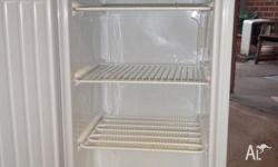 Freezer in good condition. An older model, however
