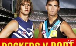One ticket for Fremantle vs Port Adelaide Patersons