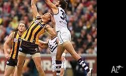 Fremantle v Hawthorn 2 x Tickets in Section 141. For