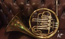 For sale is my beloved Hans Hoyer single French Horn.