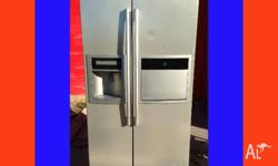 GREAT FRIDGE FREEZER SAMSUNG 621L SIDE BY SIDE WITH