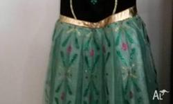 Frozen Anna Dress Size 5 Good condition. Grown out of